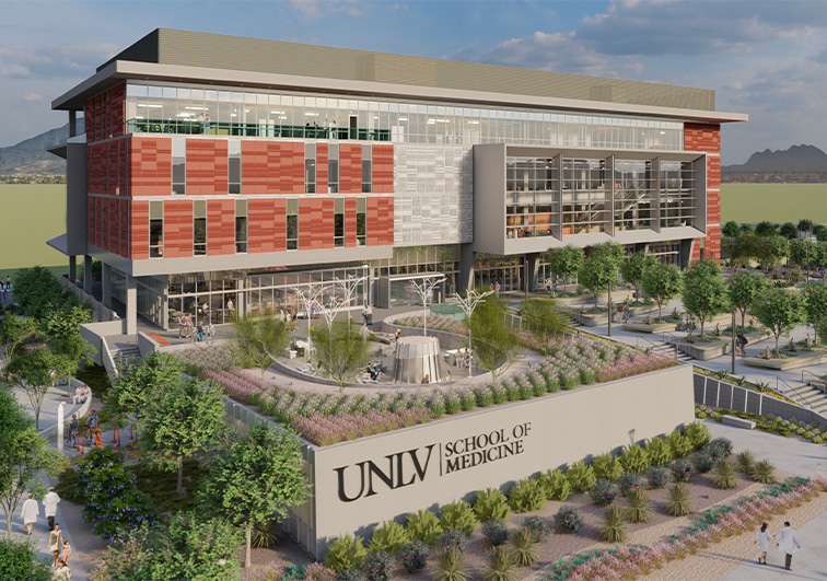 State Restores Funding For UNLV School Of Medicine Building